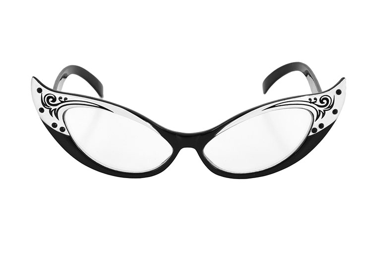 Old Fashioned Cat Eye Glasses