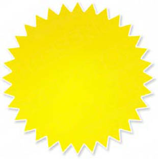 Download High Quality Royalty Free Starburst Glow Yellow ...