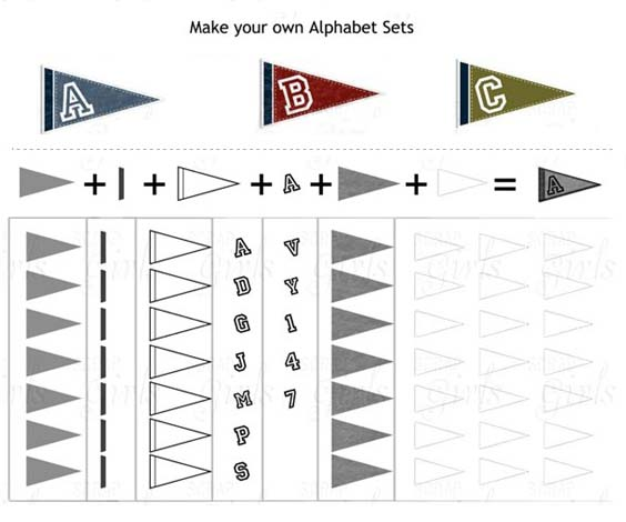 pennant banner template pennant flag template pennant templates