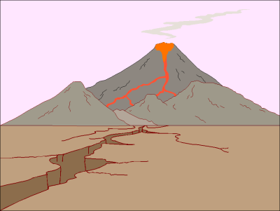 Animated Volcano - Cliparts.co