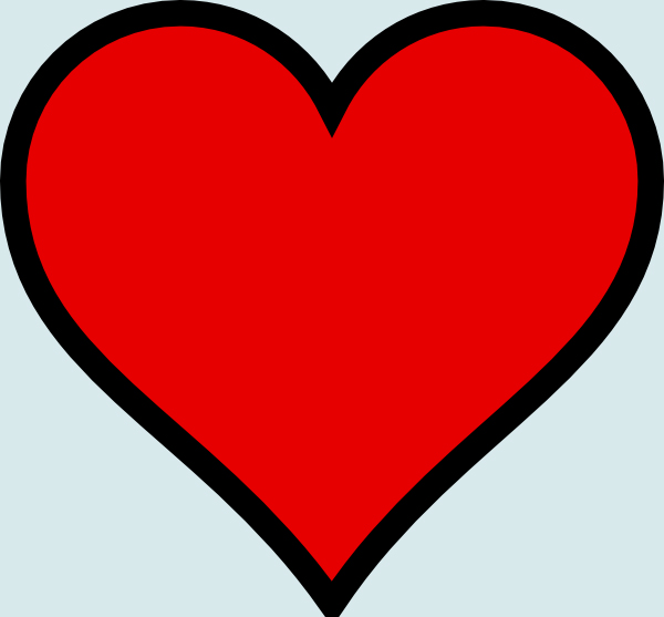 Drawing Of A Heart - ClipArt Best