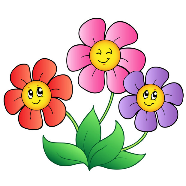 Cartoon Picture Of A Flower - Cliparts.co