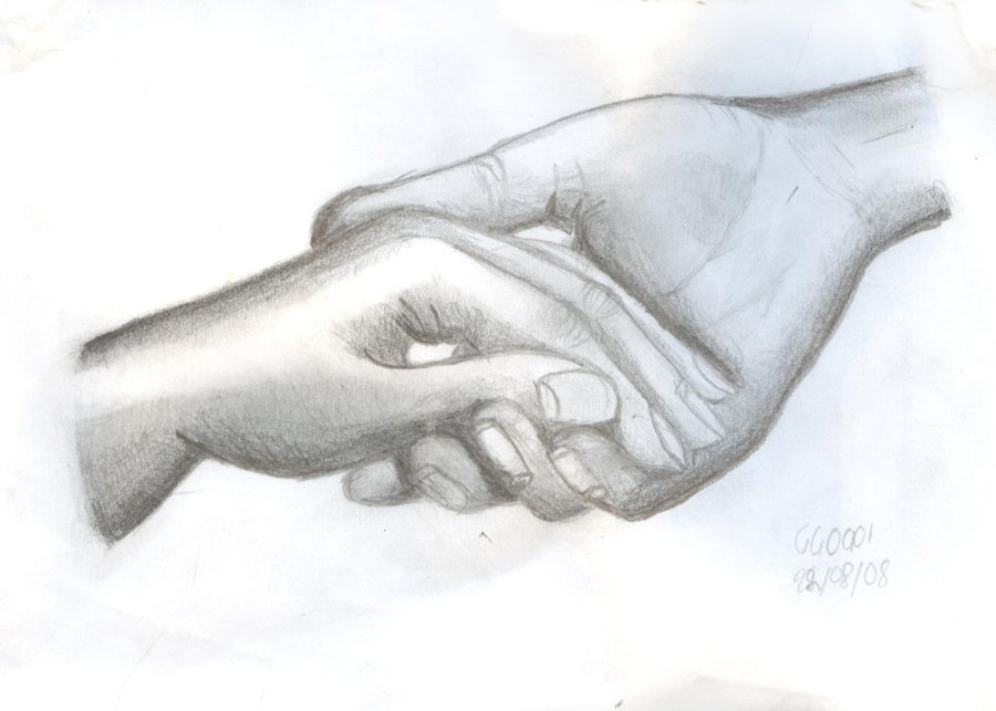 Holding Hands Drawing Cliparts Co