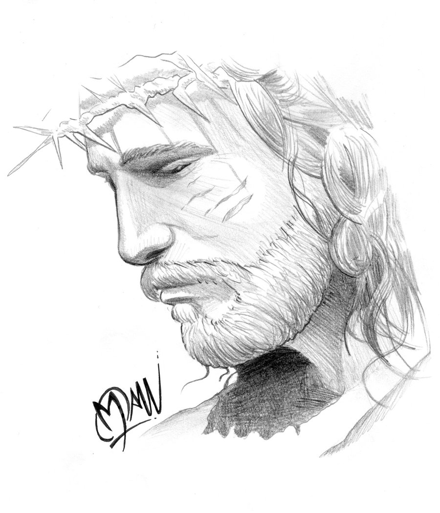Jesus Drawing - Cliparts.co