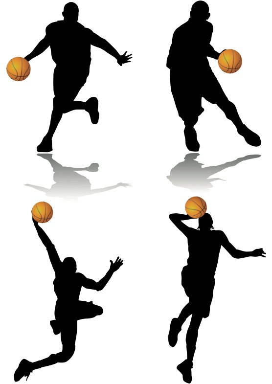 Basketball Players - Cliparts.co