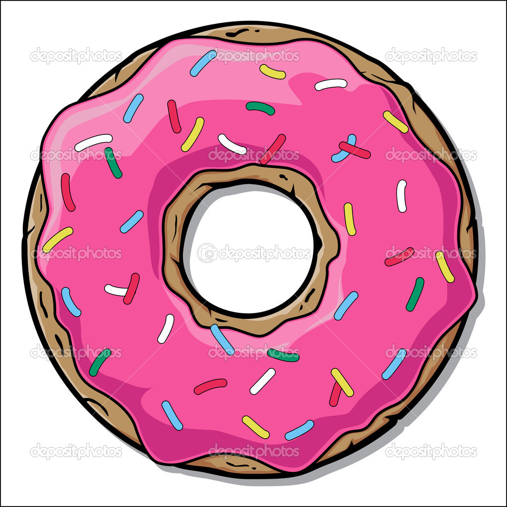 Cartoon Donut Clipart - Free Clip Art Images