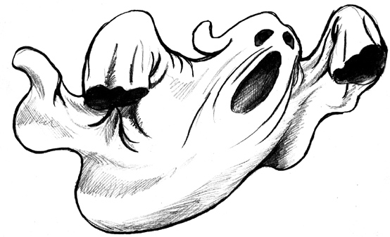 Cartoon Ghost - Cliparts.co