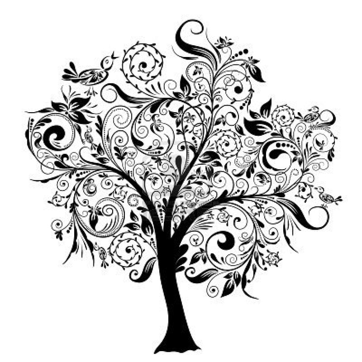 Black and White Tree. #FamilyTreeHbo #FamilySearch #Ancestory ...