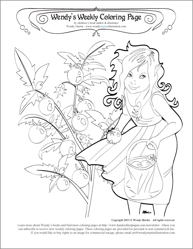 coloring pages of tomato plants - photo#27