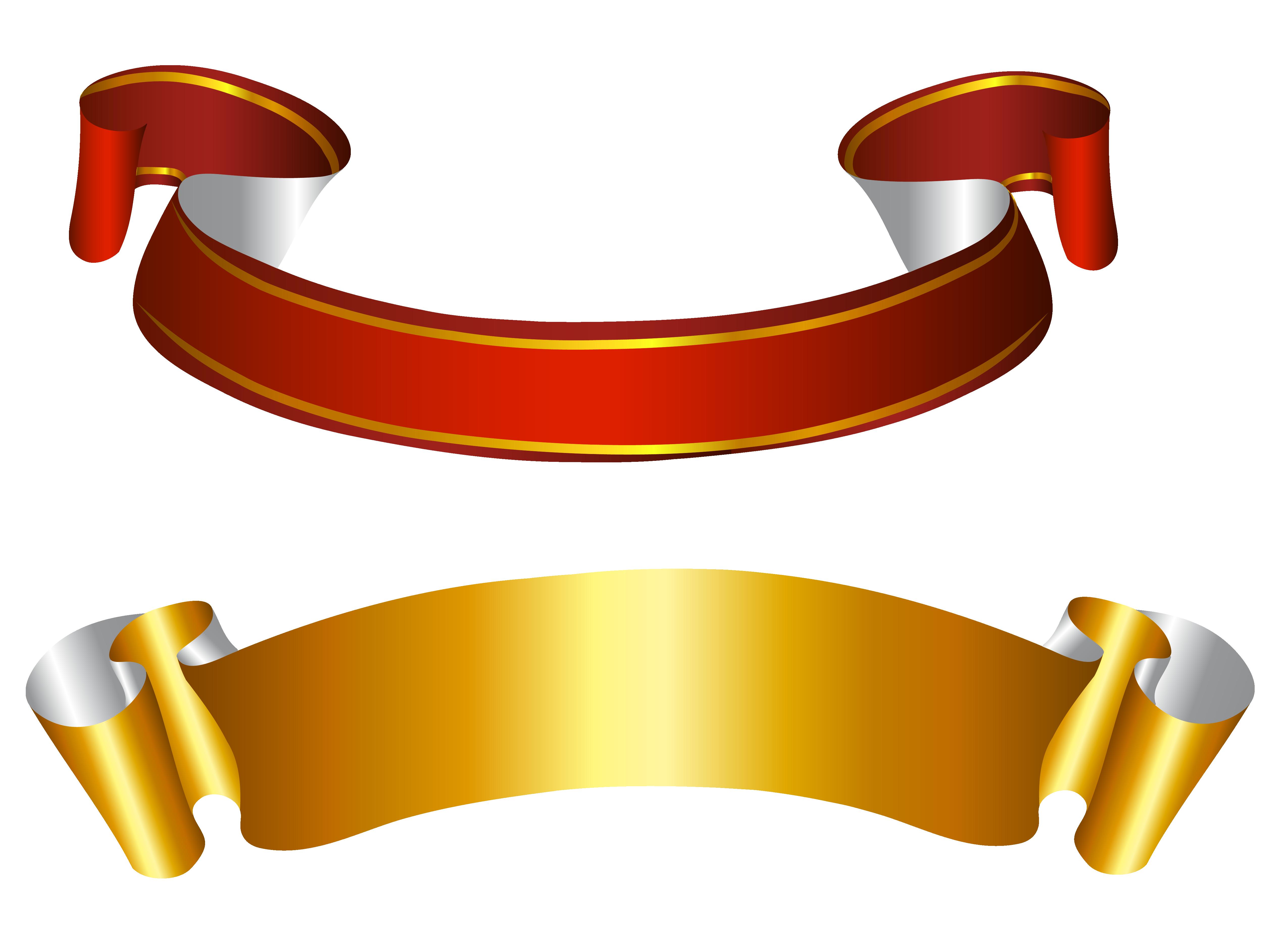 Ribbon Vector PNG - Cliparts.co