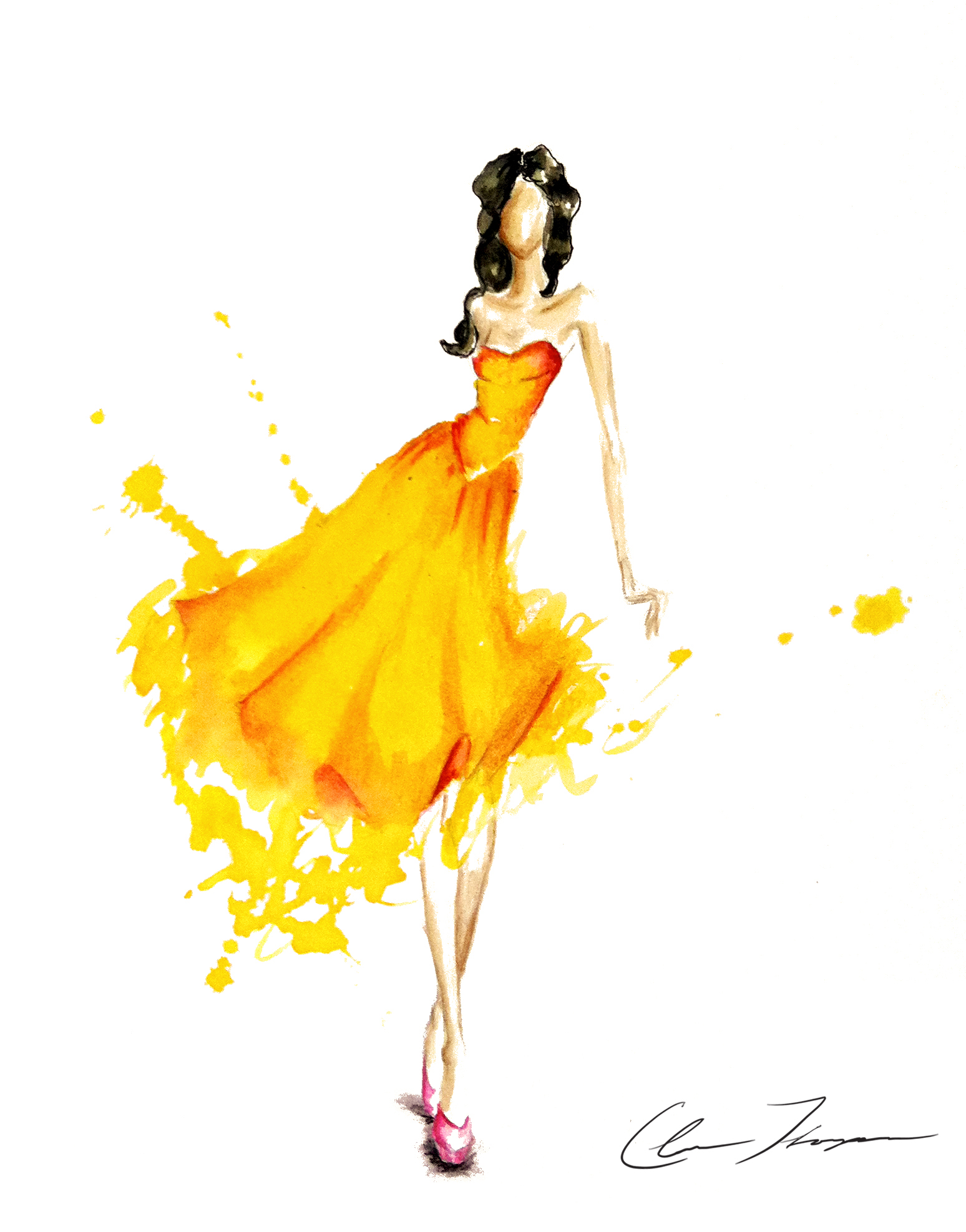 Illustration Fashion Dress
