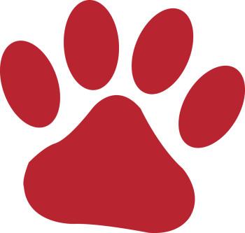 Tiger Paw Print | clip art, clip art free, clip art borders, clip ...