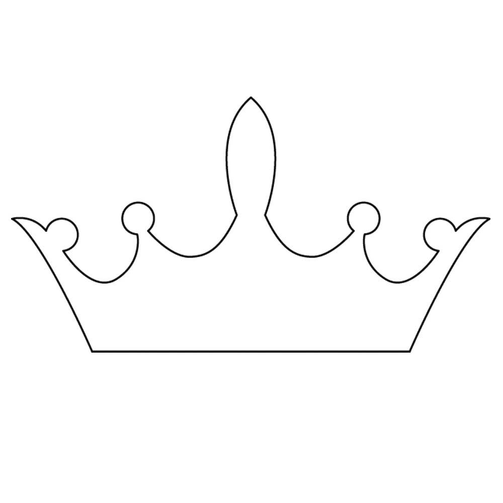 Printable Crown Template