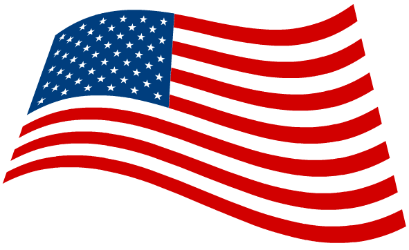 American Flag Clipart Black And White | Clipart Panda - Free ...