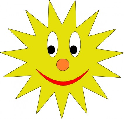 Yellow sun clip art Free vector for free download (about 50 files).
