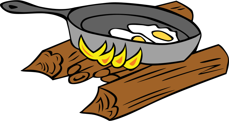 Free Campfire Cooking Clip Art