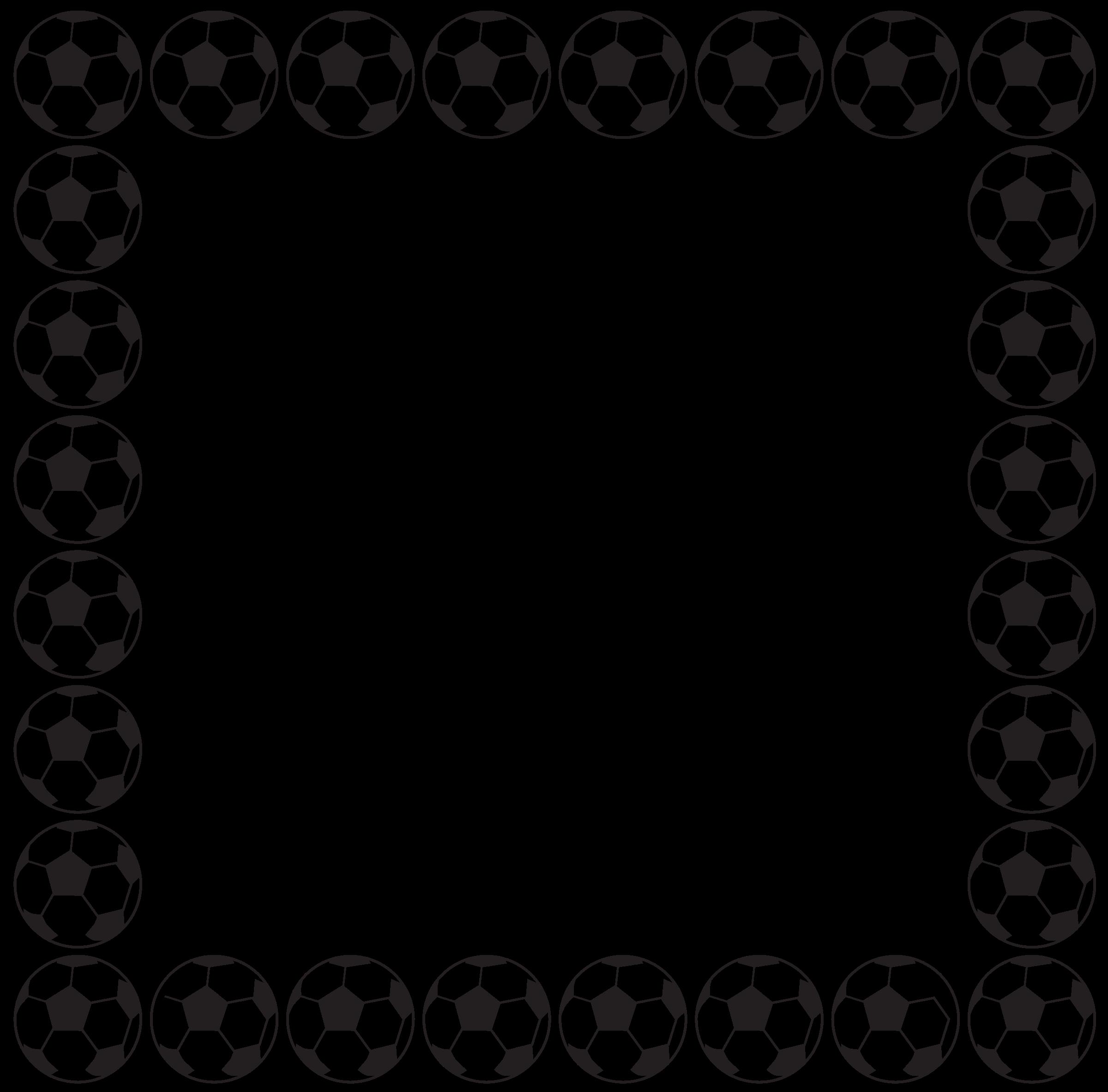 Decorative Borders For Word Free Football Border Clip Art Clipartsco