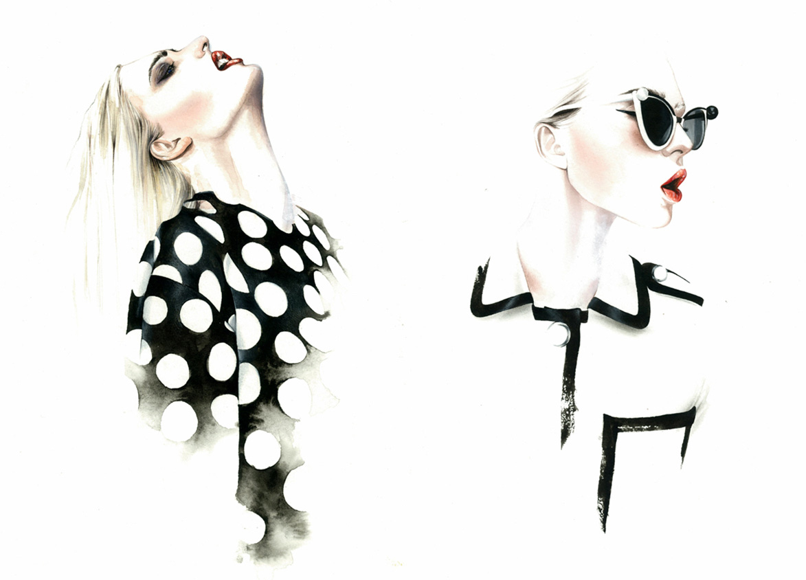 António Soares Fashion Illustrations | Trendland