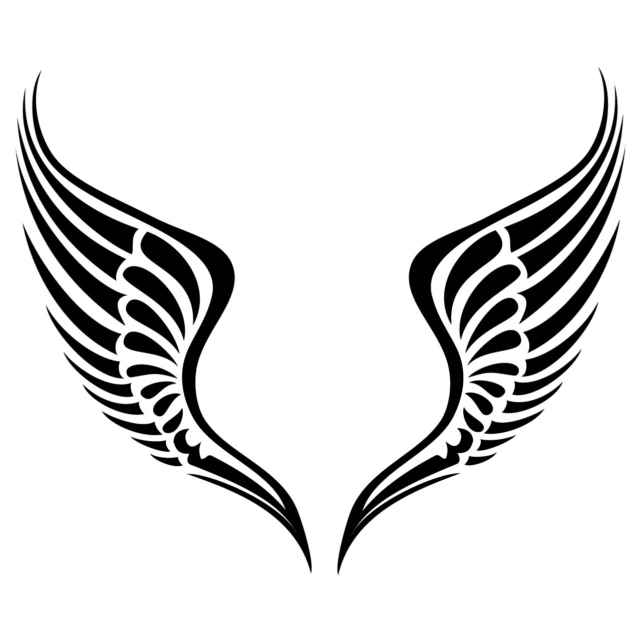 free angel wings with halo clip art - photo #7