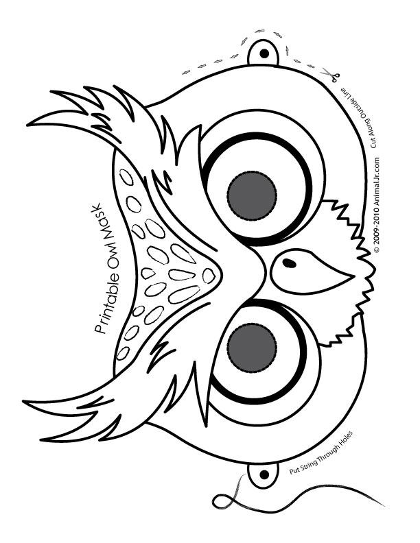 unique coloring pages owl cartoon - photo#26