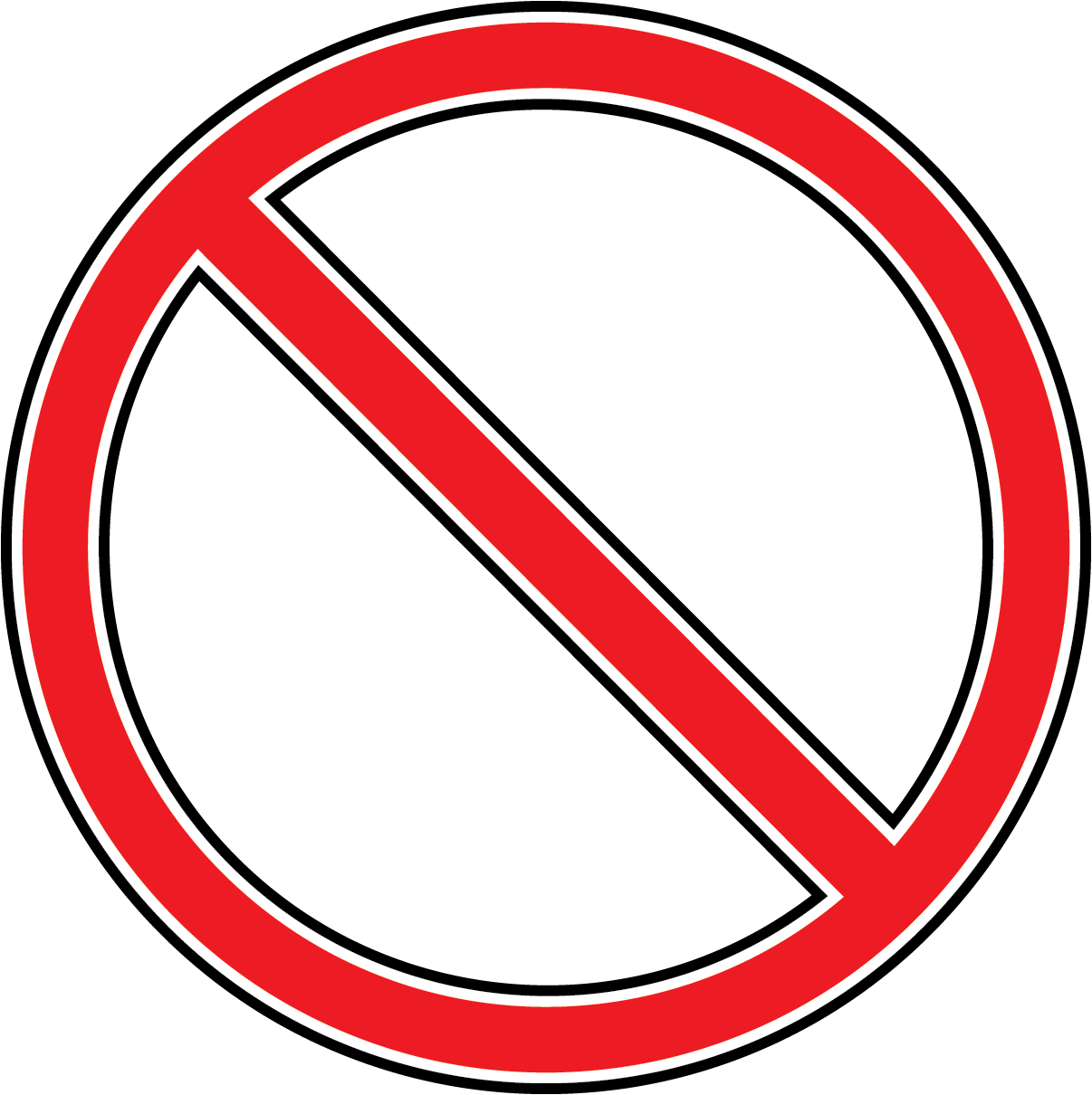 Do Not Symbol Clipart