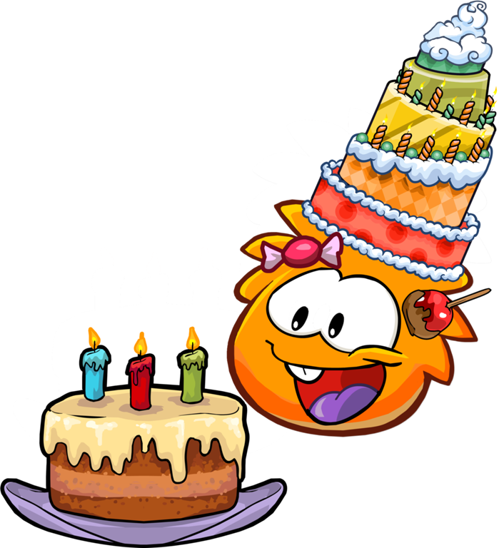 Image - Happy Birthday Orange Puffle.png - Club Penguin Wiki - The ...