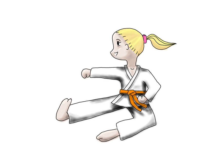 Karate Girl By Cake Ideas and Designs