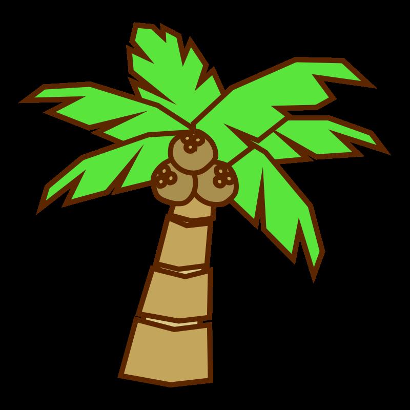 free clipart jungle trees - photo #26