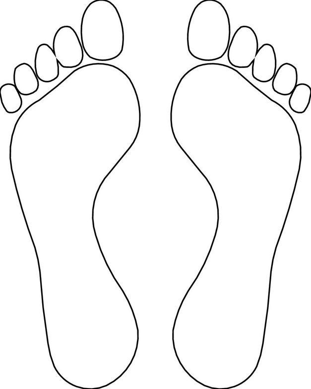 Footprints Clip Art Free
