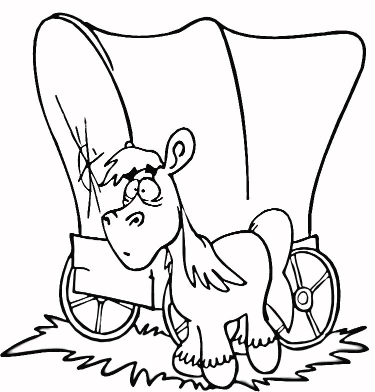 prioneer coloring pages - photo#25