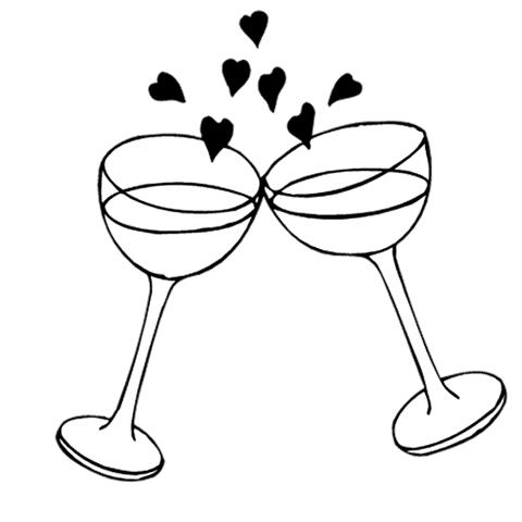 Wedding Celebration Free Clipart