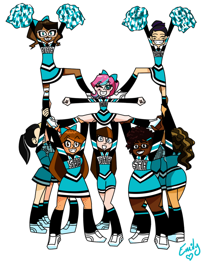 Cheerleading Clipart Stunts | Clipart Panda - Free Clipart Images