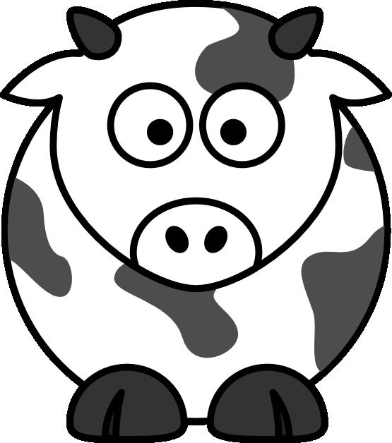 Line Art Cow : Cow line art cliparts