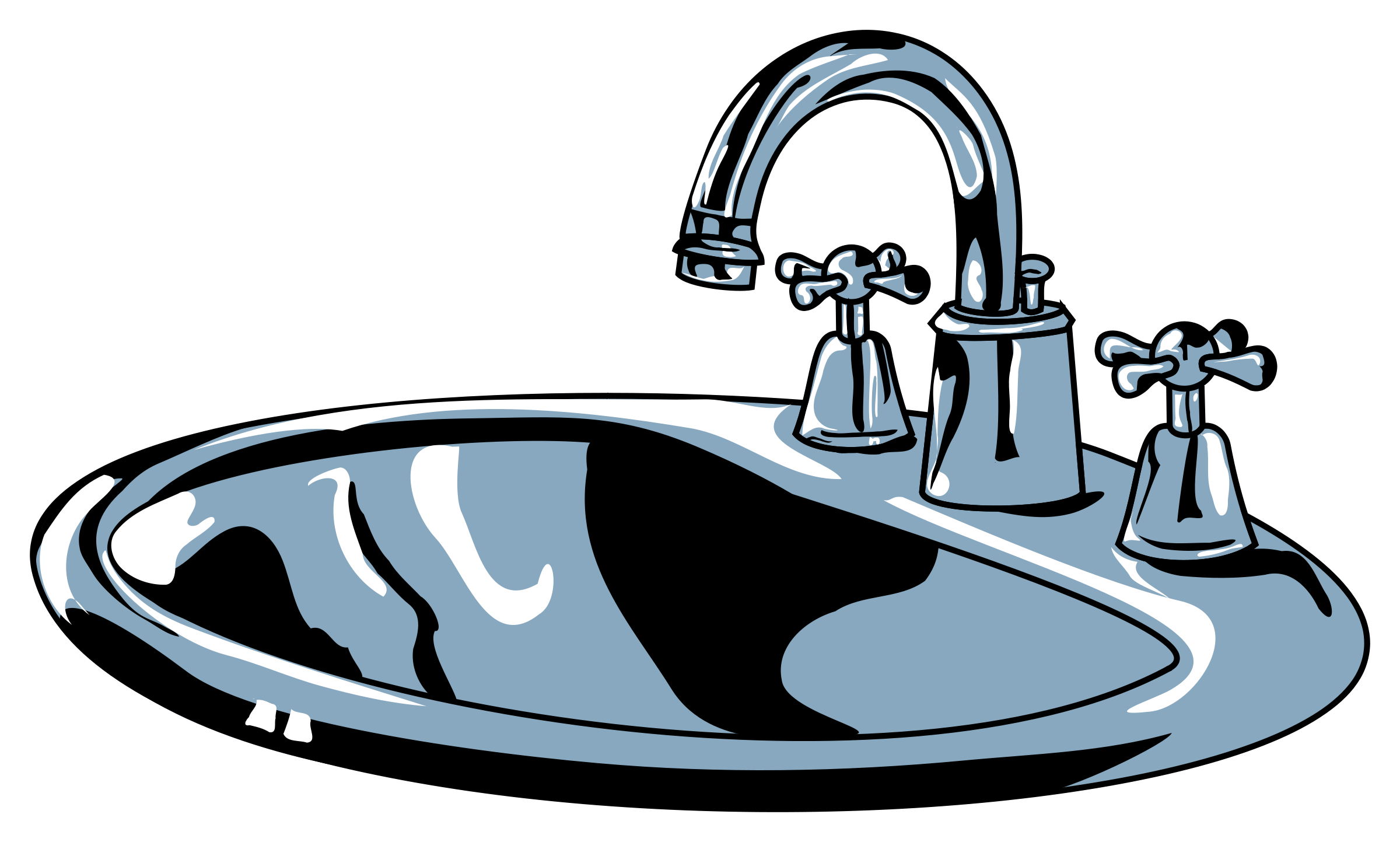 Brilliant Kitchen Sink Clipart | Clipart Panda - Free Clipart Images 2400 x 1443 · 350 kB · png