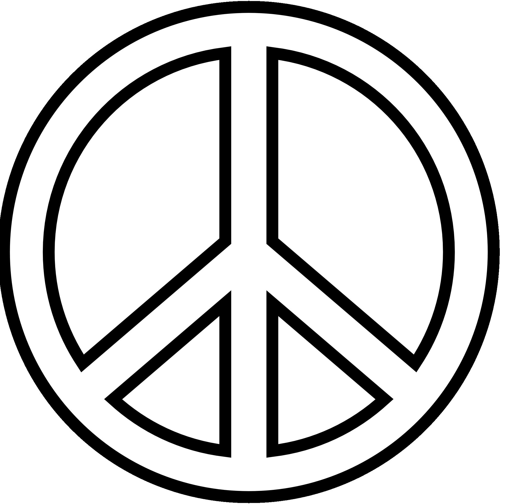 L Peace Sign - ClipArt...