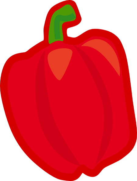 Clip Art Of Fruits And Vegetables - Cliparts.co