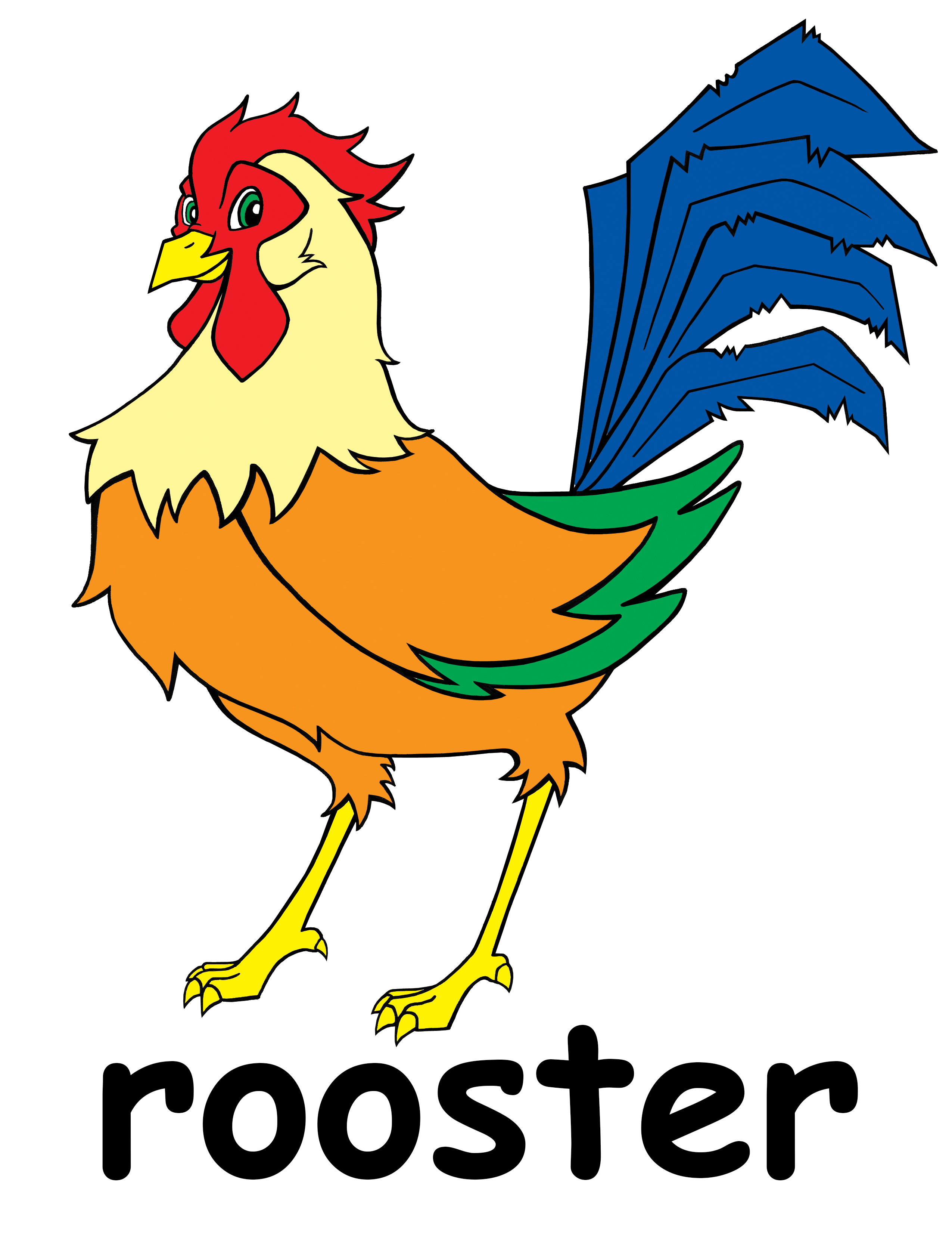 clipart rooster - photo #19