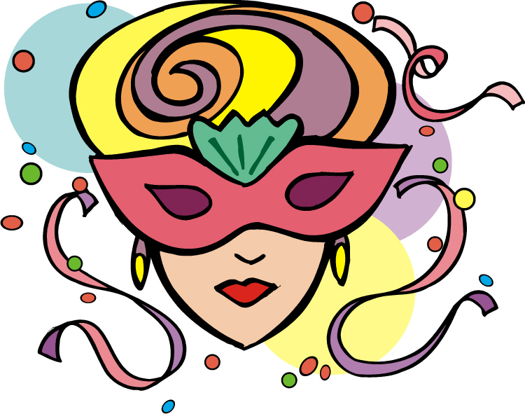 Mardi Gras Masks Clip Art - Cliparts.co