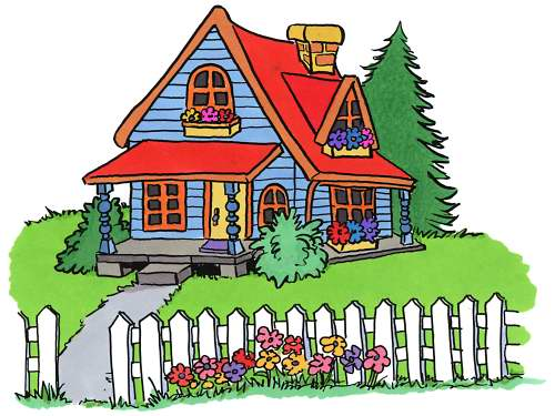 Cartoon pictures of houses for Picture of my home