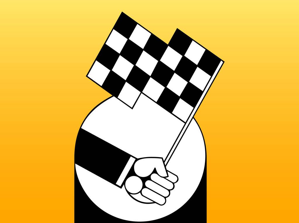 Race Flag Clip Art - Cliparts.co