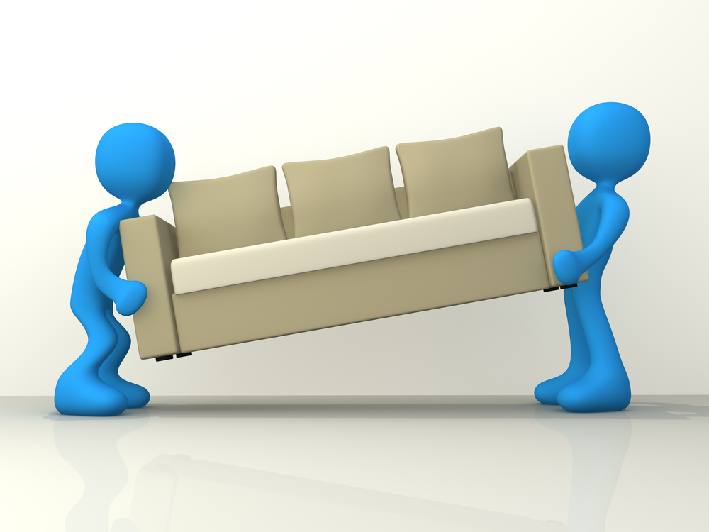 Moving Furniture Clipart