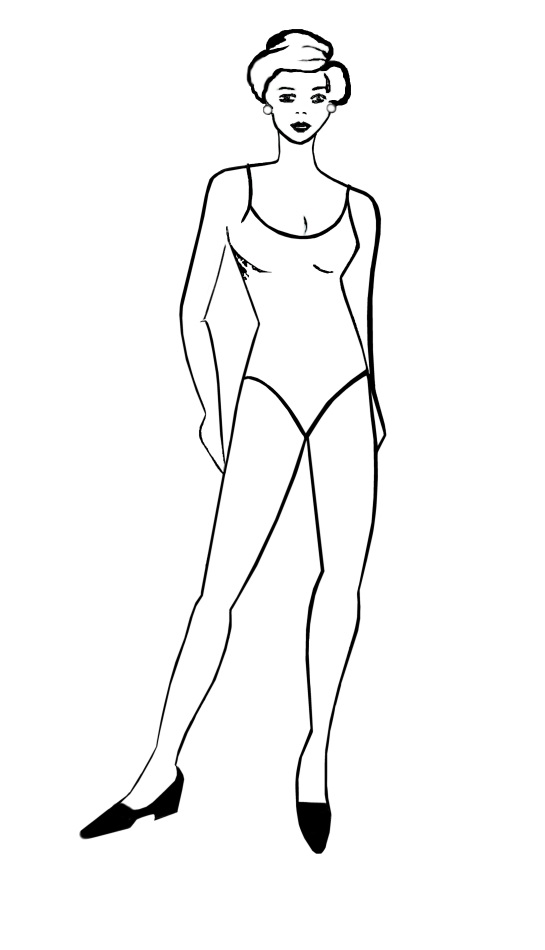 Printable Human Body Outline . Body Anatomy and Diagram