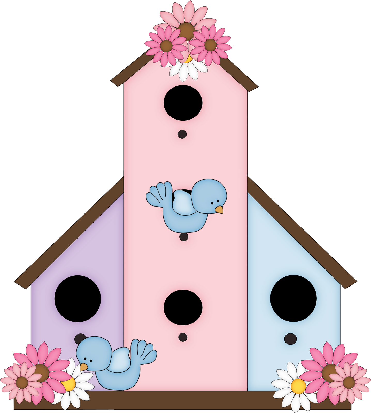 Clip Art Bird House