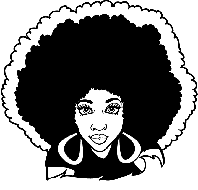 Afro Clipart - Cliparts.co