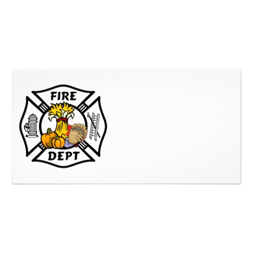 Firefighter Photo Cards, Firefighter Photo Card Templates