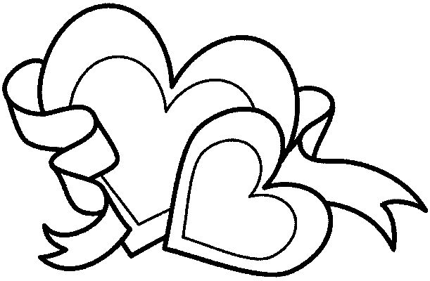 hearts and stars coloring source - Coloring Pages Hearts Stars