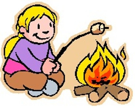 Pix For > Bonfire And Smores Clipart