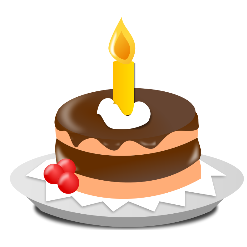 Birthday Icon Free Vector / 4Vector
