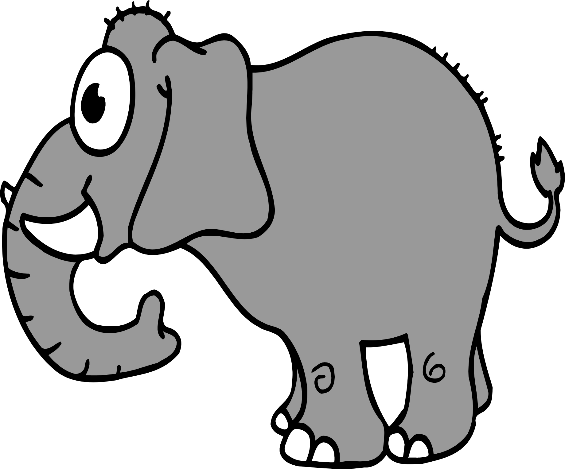 cartoon elephant wallpaper - photo #37