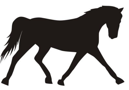 horse clip art free silhouette - photo #23